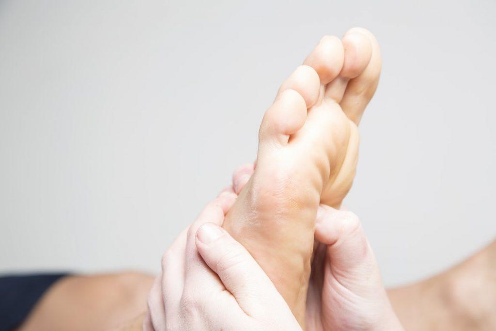 Tratamiento de reflexología podal