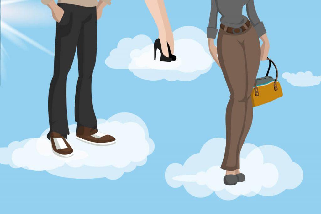 Tus pies en las nubes con la refelxología podal.